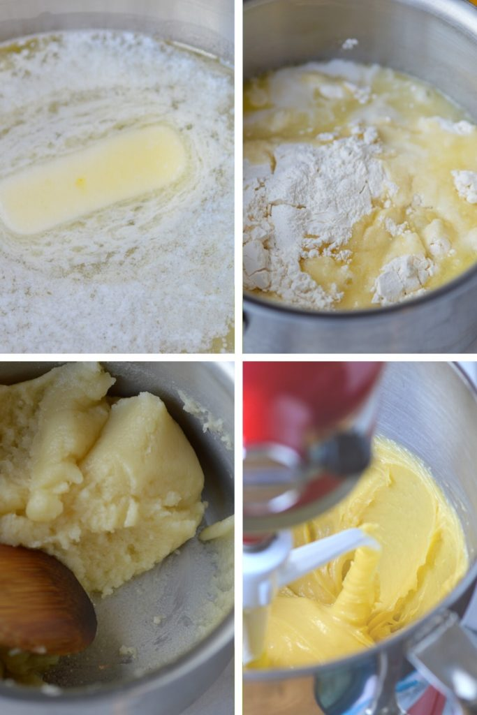 Process of Making Choux Pastry