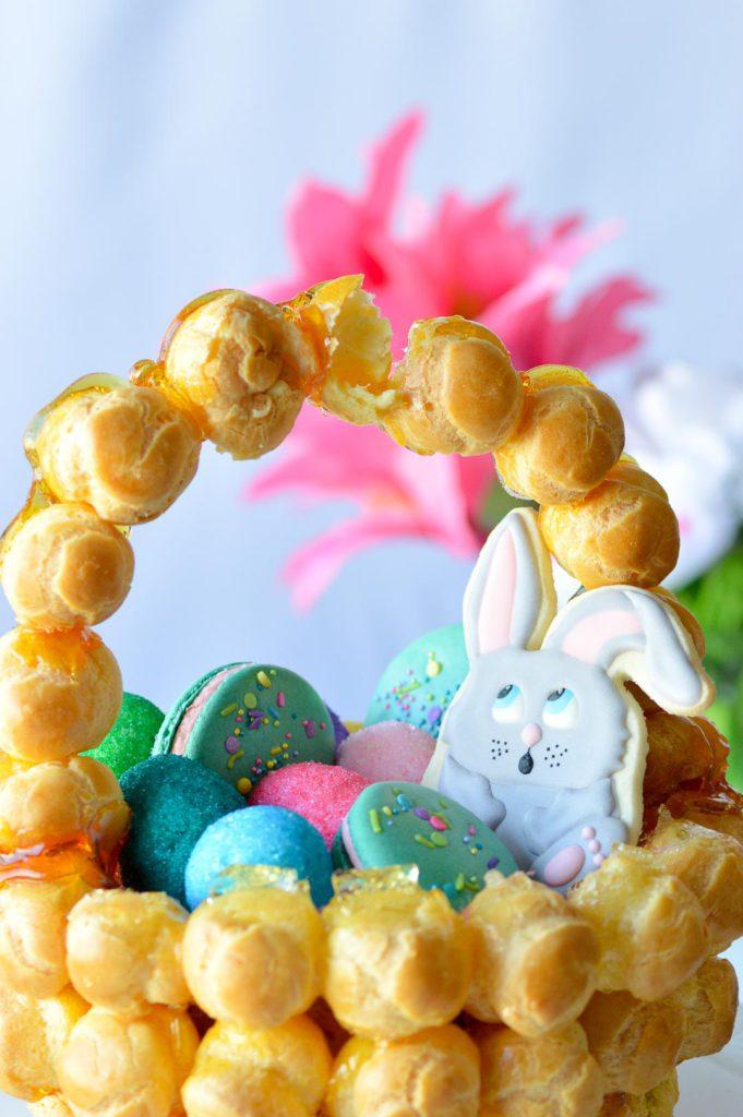 Croquembouche Easter Croquembasket