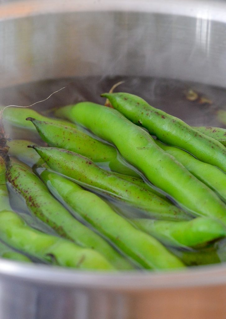 Cooking Fava Beans