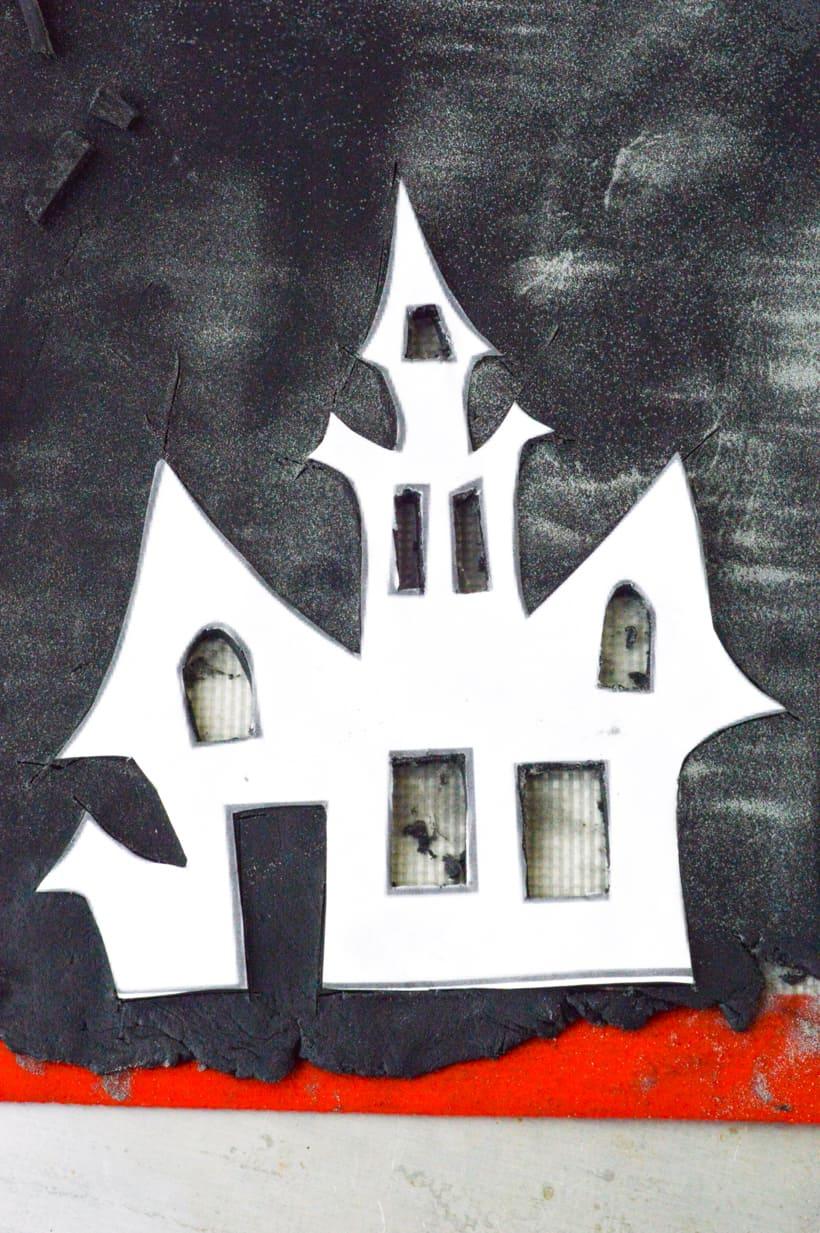 Halloween Pumpkin Pie Activated Charcoal Black Crust