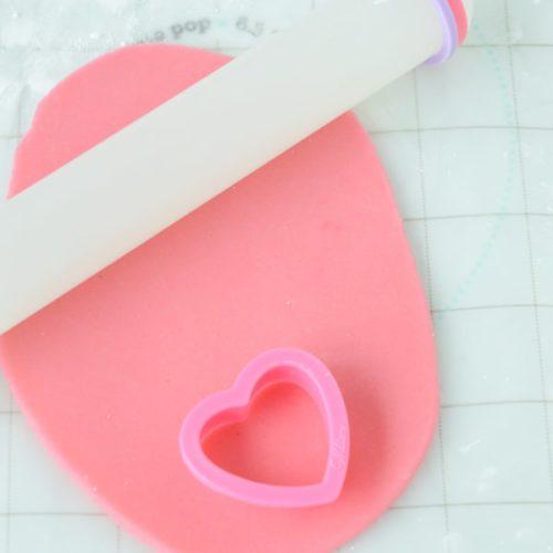 homdemade marzipan pink