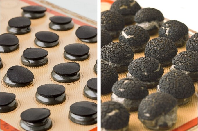 activated charcoal craquelin